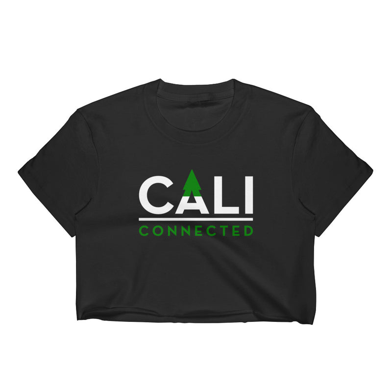 CaliConnected Women's Black Crop Top