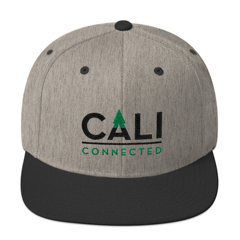 CaliConnected Wool Snapback Hat, CaliConnected Online Smoke Shop