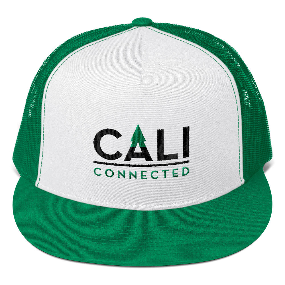 CaliConnected Mesh Trucker Cap - Affordable vaporizers and quality glass bongs, water pipes, dab rigs and more at the best online headshop - CaliConnected