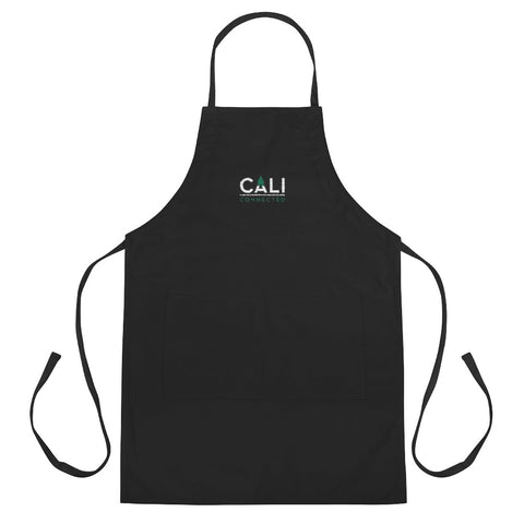 CaliConnected Embroidered Apron, CaliConnected Online Smoke Shop