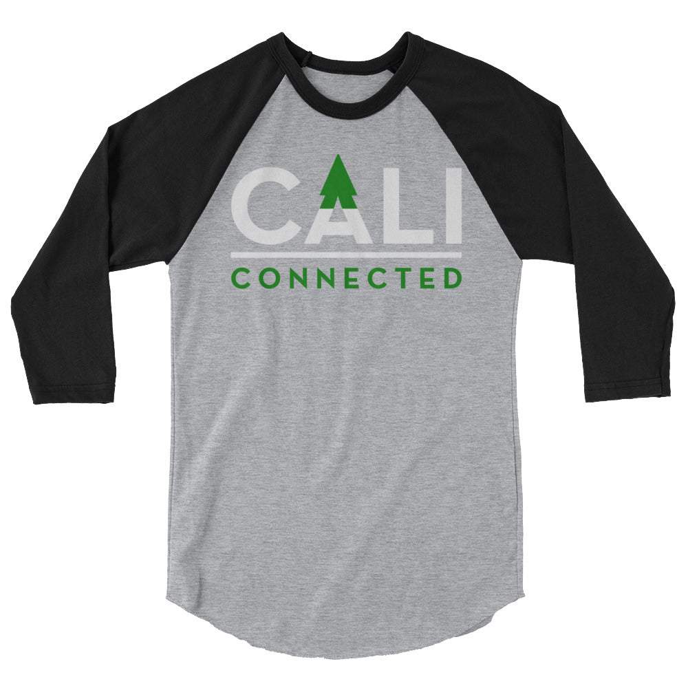 CaliConnected 3/4 Sleeve Raglan Tee