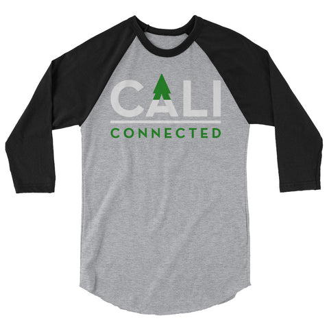 CaliConnected Unisex 3/4 Sleeve Raglan - Affordable vaporizers and quality glass bongs, water pipes, dab rigs and more at the best online headshop - CaliConnected