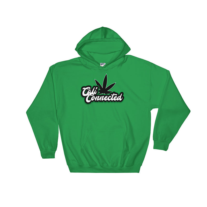 CaliConnected Green Leaf Hoodie