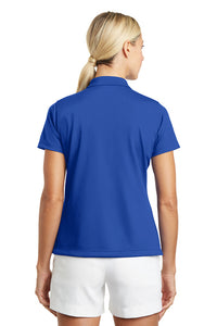 "Nike Ladies Tech Basic Dri-FIT Polo Royal with Embroidered Acalanes ""A"" Logo"