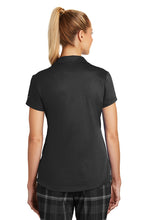 "Nike Dri-FIT Legacy Ladies Polo Black with Embroidered Acalanes ""A"" Logo"