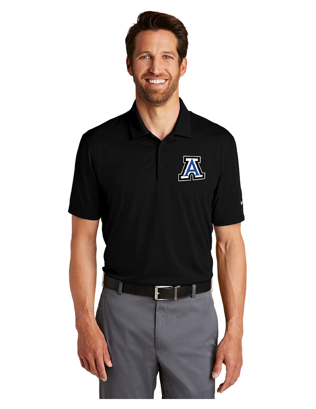 Nike Dri-FIT Legacy Polo Black with Embroidered Acalanes
