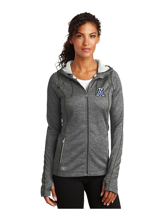 OGIO® ENDURANCE Ladies Pursuit Full-Zip with Embroidered Acalanes