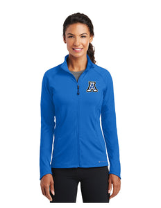 "OGIO® ENDURANCE Ladies Radius Full-Zip Royal with Embroidered Acalanes ""A"" Logo"