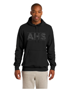 Sport-Tek® Pullover Hooded Sweatshirt Black with Screen Printed Acalanes AHS Logo