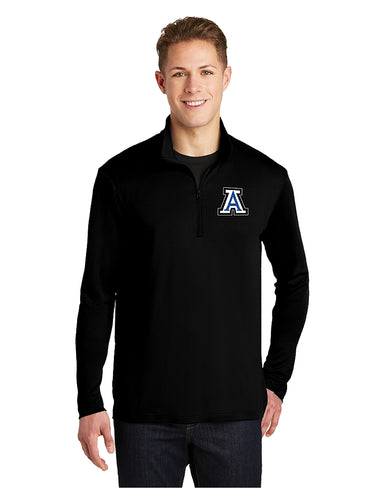 Sport-Tek® PosiCharge® Competitor™ 1/4-Zip Pullover Black with Embroidered