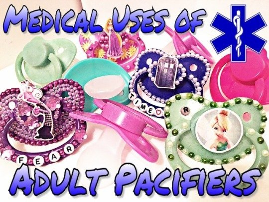 Medical Uses of Adult Pacifiers