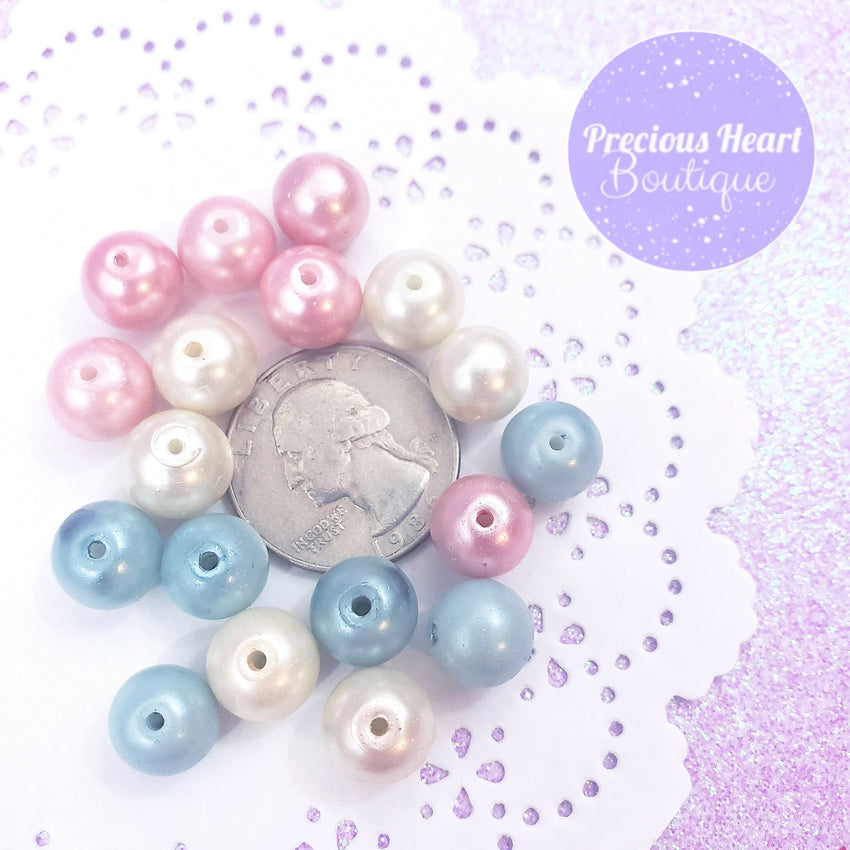 Pastel Pearl Beads