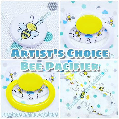 Bee Adult Pacifier