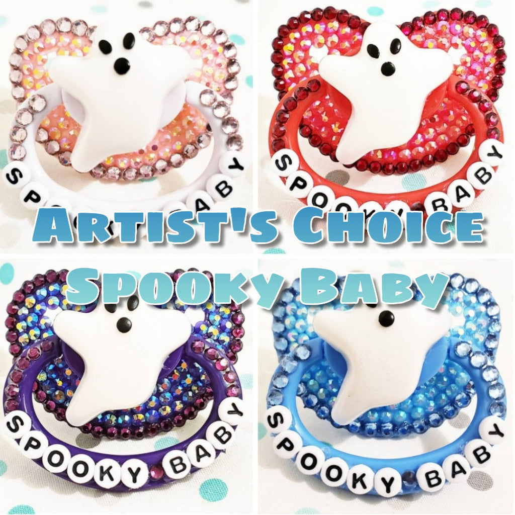 Spooky Baby Adult Pacifier