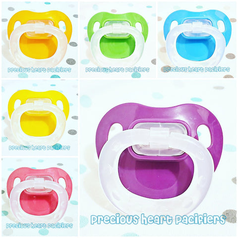 Colors Modified Adult Pacifiers
