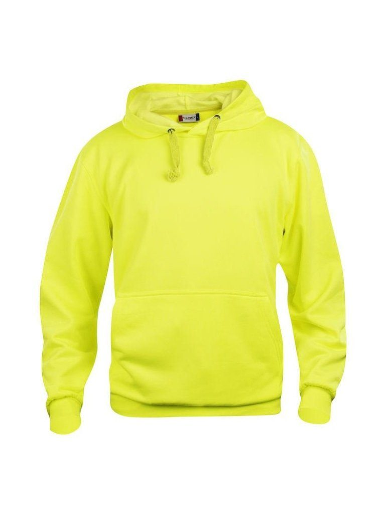 Basic Hoodie Visibility Gul (11)