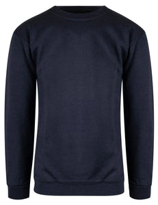 Crewneck Marinemelert 385