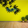 CANNABIS TREE LEAF Wall Decal Vinyl Sticker