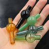 Colored Glass Bottle Carb Cap glass bubble carb caps Dome For Quartz Banger Nail Dab Rig