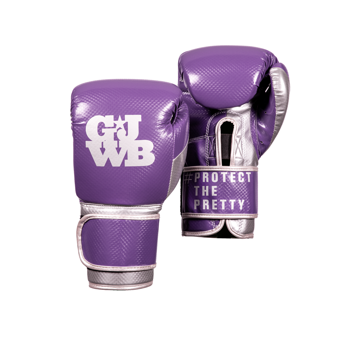 Purple boxing gloves for women