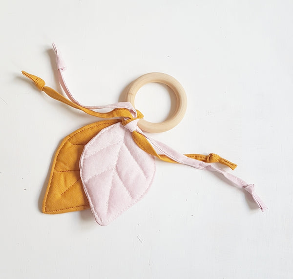 Leaf Baby Teether
