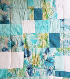 Tropical Blue Sensory Quilt/Playmat