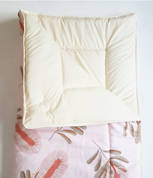 Pink Banksia Toddler Sleeping Bag