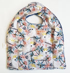 White Cockatoo Travel Bib