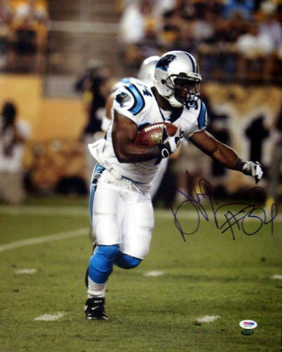 DeAngelo Williams Autographed 16x20 Photo Carolina Panthers PSA/DNA