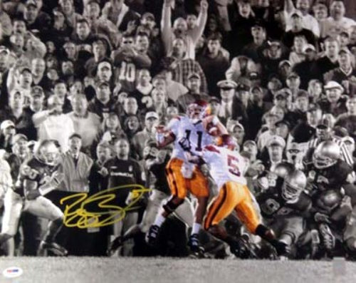 Reggie Bush Autographed 16x20 Photo USC Trojans PSA/DNA
