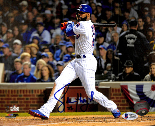 Jason Heyward Autographed 8x10 Photo Chicago Cubs World Series
