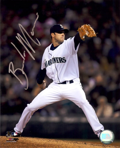 Brandon Morrow Autographed 8x10 Photo Seattle Mariners