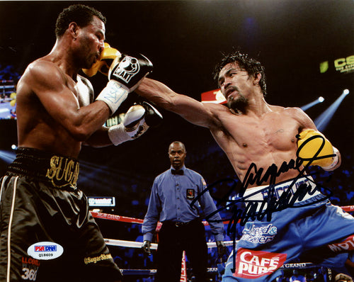 Manny Pacquiao Autographed 8x10 Photo