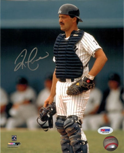 Rick Cerone Autographed 8x10 Photo New York Yankees PSA/DNA