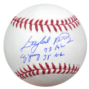9b3b7392608 Gaylord Perry Autographed Official MLB Baseball San Francisco Giants