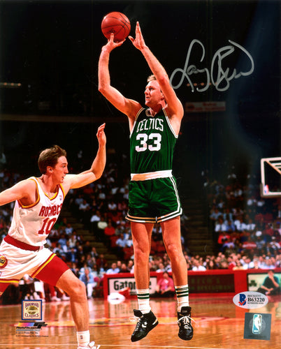 Larry Bird Autographed 8x10 Photo Boston Celtics