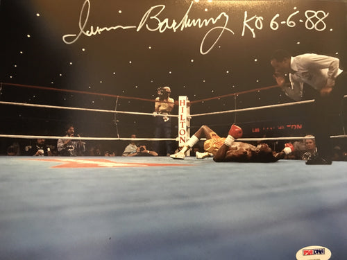 Iran Barkley signed and inscribed