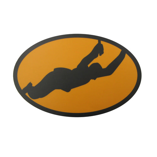 Bobby Orr Yellow Fill Bumper Sticker