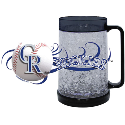 Duckhouse MLB Colorado Rockies 16Oz Crystal Freezer Mug