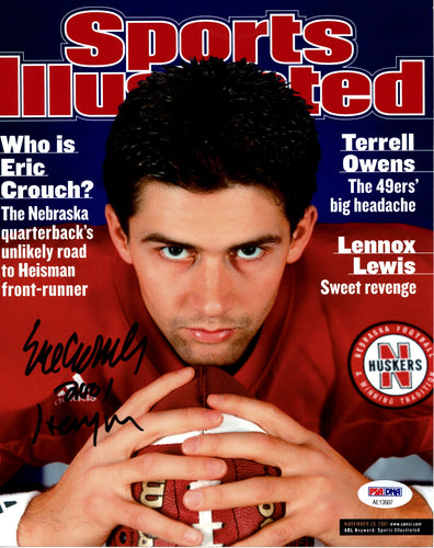 Eric Crouch Signed and inscribed