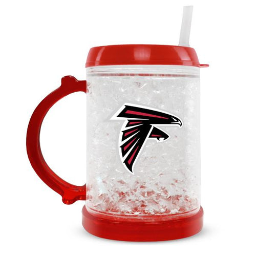 Duckhouse NFL Atlanta Falcons 8-Ounce Junior Crystal Freezer Mug