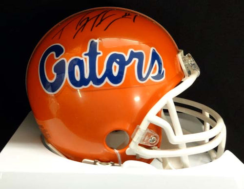 Percy Harvin Autographed Florida Gators Mini Helmet PSA/DNA