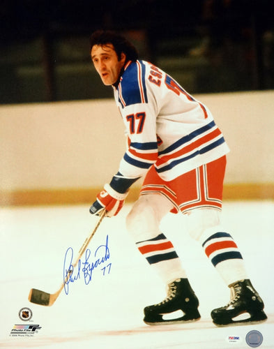 Phil Esposito Autographed 16x20 Photo New York Rangers PSA/DNA