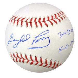 6429e1acac7 Gaylord Perry Autographed Official MLB Baseball San Francisco Giants