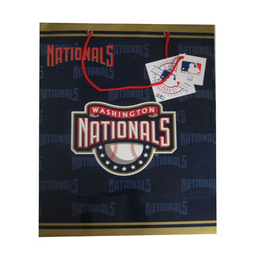 2 MLB Large Gift Bag - Nationals