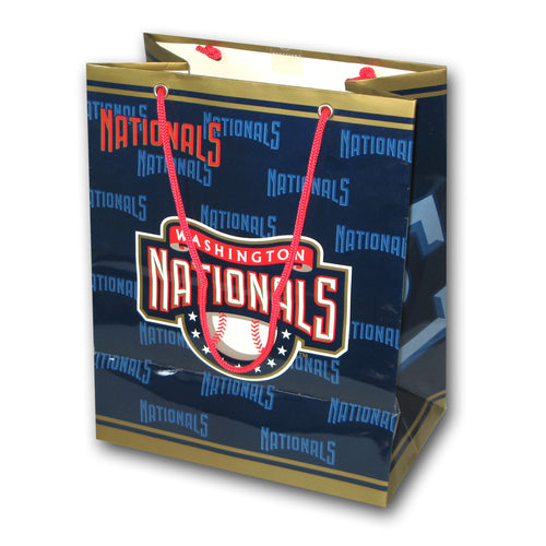 MLB Washington Nationals Medium Gift Bag