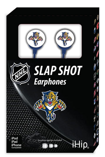 NHL Florida Panthers Logo Earbuds