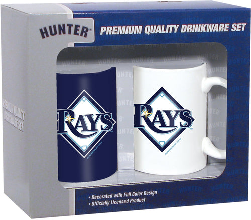Hunter MLB Tampa Bay Rays 2-Pack Coffee Mug