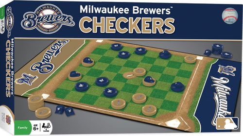 MLB Milwaukee Brewers Checkers