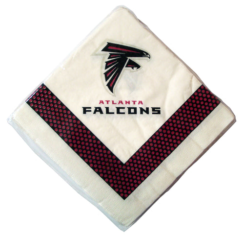 Duckhouse NFL Atlanta Falcons 24-Pack Paper Napkins